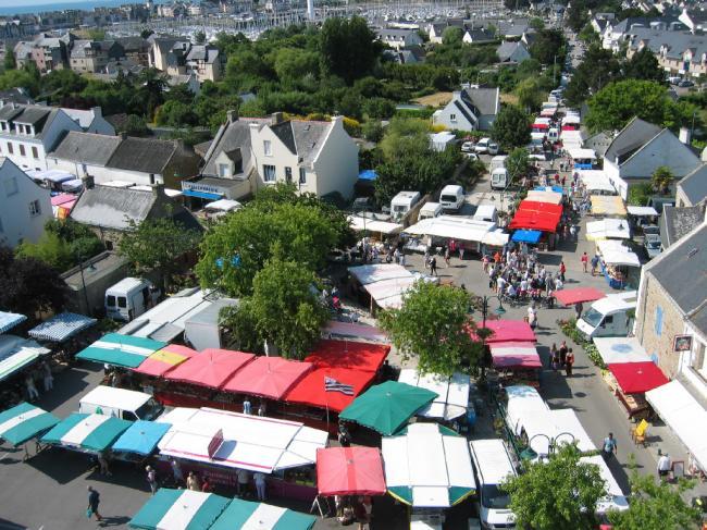 marché du bourg